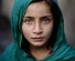 'Afghan Girl in Green Shawl, Peshawar Pakistan' by McCurry, Steve